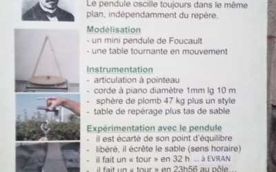 La découverte du pendule de Foucault