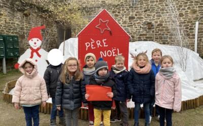 La lettre au Père Noël des élèves de grande section